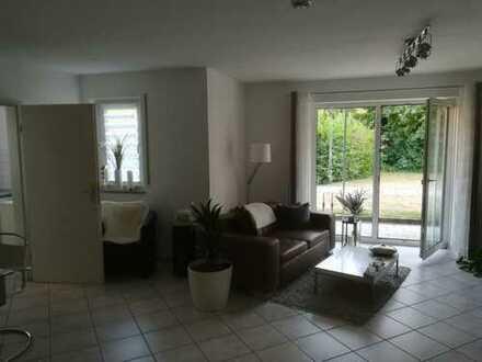 Zentrumsnahe, sonnige 2-Zimmer-EG-Wohnung mit Terrasse und Einbauküche in Ingolstadt