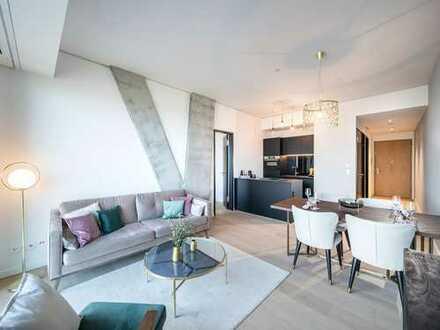 OMNITURM - Lichtdurchflutete 2-Zimmer-Eckwohnung mit hochwertiger Ausstattung in bester Lage