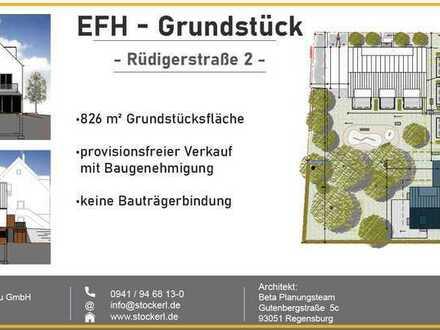 **traumhaftes EFH-Grundstück mit Baugenehmigung**