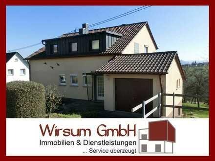SCHÖNES EIN-/ZWEIFAMILIENHAUS - NEU RENOVIERT - MIT HERRLICHEM AUSBLICK