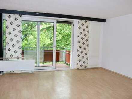 Ihre Zweizimmerwohnung mit gutem Grundriß - umgeben von Grün in ruhiger Lage