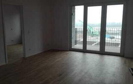 Stilvolle 2-Zimmer-Wohnung mit Einbauküche und Rheinblick in Mainz