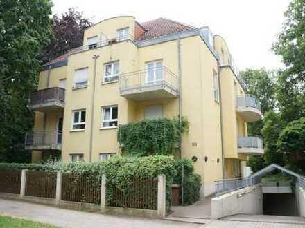 * frei ab 01.02.2019: möbliertes Apartment mit Balkon in Uni Nähe *