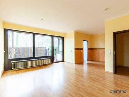 3-Zimmer-Erdgeschosswohnung in Porz-Urbach! Einziehen und Wohlfühlen! Mit Terrasse.