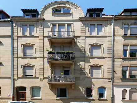 Stilvolle Altbauwohnung mit Atelier und Loggia in Mannheim, Neckarstadt-Ost