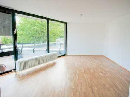 Erstbezug nach Sanierung 3,5-Zimmer in Rheinnähe mit größer Terrasse zum Wohlfühlen