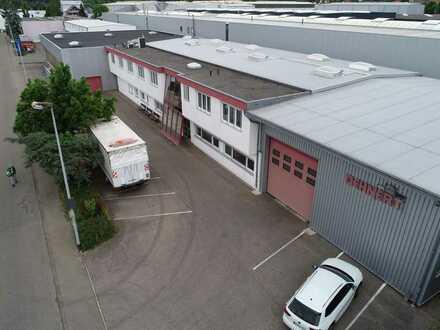 Industriehalle mit 5 t Kran,  Büro- und Verwaltungsgebäude