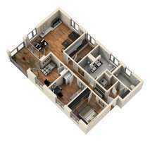 Exklusive Barrierefreie 4- Zimmer ETW an der Glacis Galerie