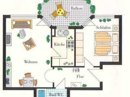 Ohne Makler! Stilvolle, gepflegte 2,5-Zimmer-Wohnung mit Balkon und EBK in Markgröningen