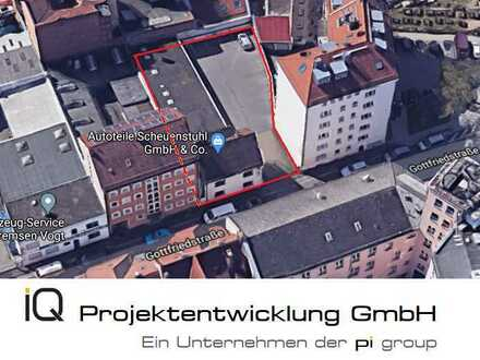 Entwicklungsfähiges Bauträgergrundstück zur wohnwirtschaftlichen Nutzung in Nürnberg/Ludwigsfeld