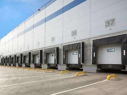 NEUBAU: bis zu ca. 20.000 qm Lager / Logistik | Rampe + ebenerdig | ca. 10,50 m UKB