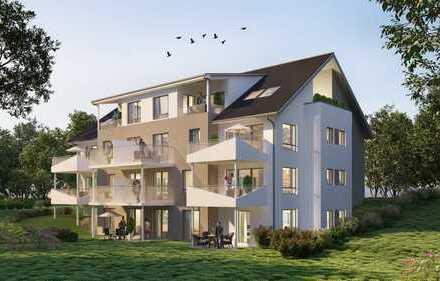 Moderne 2,5 Zimmer Erdgeschosswohnungen mit ca. 50 m², schönem Balkon und Südost Ausrichtung
