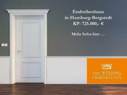Endreihenhaus in Hamburg-Bergstedt...