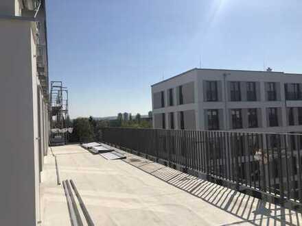 * Traumwohnung mit 100 m² sonniger Dachterrasse u. herrlichem Blick *