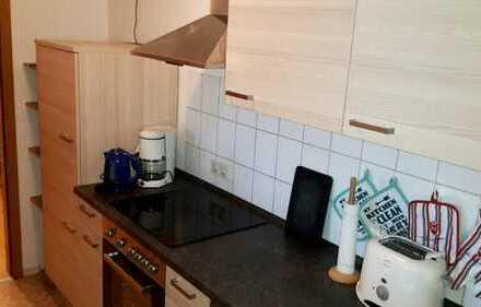 Schicke 3-Raum-Wohnung mit Einbauküche im Zentrum von Zschopau zu vermieten