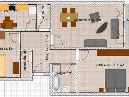 690 € - 88 m² - 3.0 Zi.