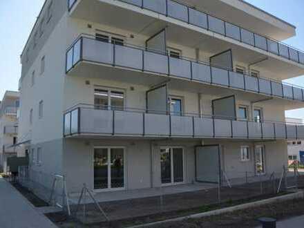Erstbezug: exklusive 2-Zimmer-Erdgeschosswohnung mit Terrasse und Garten in Freising