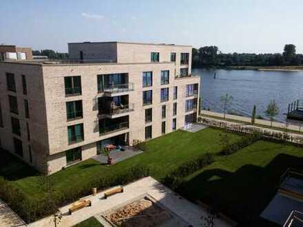 64m² Dachterrasse an der Weser - 3 Zi. Penthouse Wohnung im Magellan Überseestadt