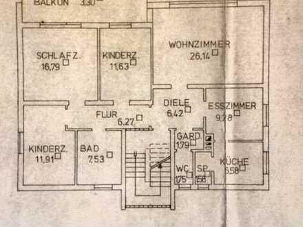 Gepflegte 4,5-Zimmer-Wohnung mit Balkon in Hohenroth Rhön-Grabfeld (Kreis)