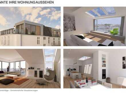 *Dachgeschosswohnung und Rohling zum Ausbau mit Baugenehmigung*