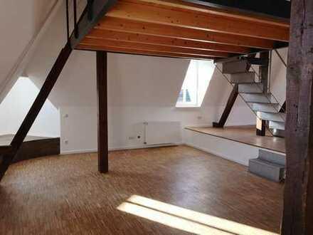 ++ Moderne 1-Zimmer-Loft-Wohnung mit Einbauküche und Balkon in zentrale Lage von Gescher ++