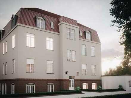 Schöne Dachgeschoss-Wohnung mit großen Balkon