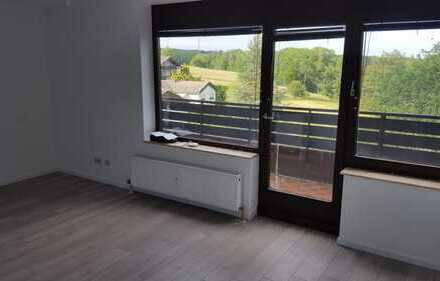 Modernisierte 1-Zimmer-Wohnung mit Balkon und Einbauküche in Altensteig
