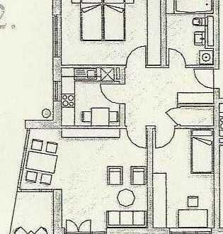 3-Zimmer-Wohnung mit Balkon und Einbauküche in Straubing