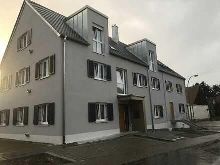 Neuwertige 4-Raum-Wohnung mit Balkon und Einbauküche in Krumbach (Schwaben)