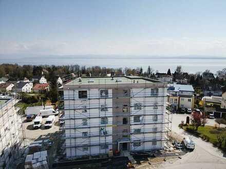 Exklusive 2-Zimmer-Obergeschosswohnung im Neubauprojekt 'Seeblick'
