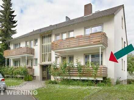 3-Zimmer-Wohnung mit Balkon, Terrasse, Garage und Garten + zusätzlichem 15 m² großen Hobbyraum!