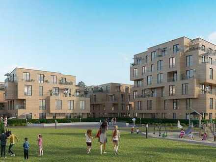 3-Zimmer-Wohnung auf ca. 97 m² mit 2 Balkonen nahe der Altstadt direkt am Lech