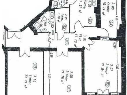 Vermietete ETW in Top-Lage, 4 Zimmer-Wohnung als Kapitalanlage