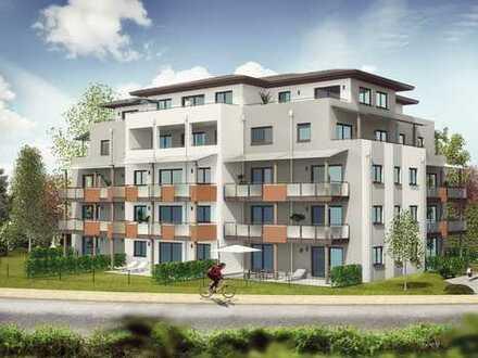 Adlerpark Stadtvilla: Neuwertige 1-Zi.-Wohnung mit großer Dachterrasse in Waldkraiburg