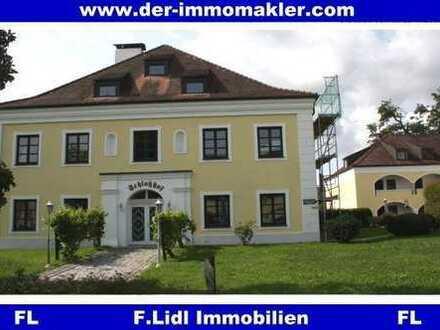 *F.Lidl Immobilien* Restaurant - Schlossanlage in Kirchham (Nähe Bad Füssing)