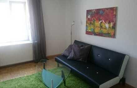 Stilvolle 1-Zimmer-Wohnung mit Balkon in Neu-Ulm