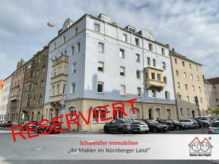 Kapitalanlage! Großzügige 4-Zimmer-Altbauwohnung mit Balkon in Nürnberg am Annapark zum Kauf