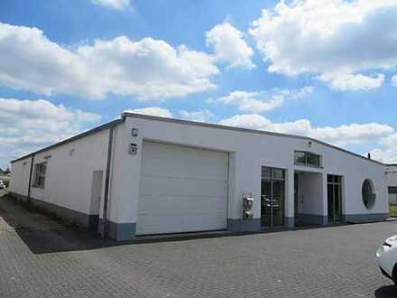 Industriehalle rd. 380 m² + Büros rd. 120 m² mit Erweiterung auf einem rd. 2.330 m² Kaufgrundstück
