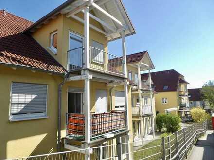 Wohnung mit Balkon und TG-Stellplatz im Service-Wohnen Rimpar!