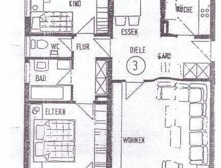 Vollständig renovierte 3,5-Zimmer-Wohnung mit Balkon und EBK in Heubach