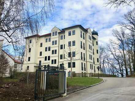 Exklusive Schlosswohnung auf parkähnlichem Areal, ruhig und zentral.- sofort beziehbar!