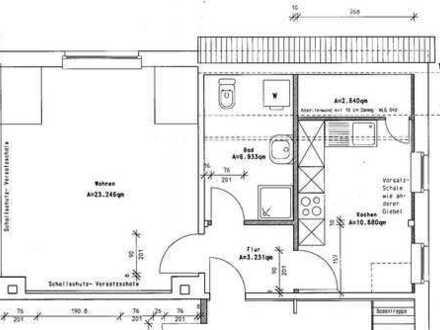 Verm. 44 m² 1,5-Raum Whg in Kleinsaubernitz - Nähe Olbasee 220 €