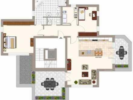 Projektierte Penthouse Wohnung in ruhiger Lage mit Weitblick von Hagen Emst!