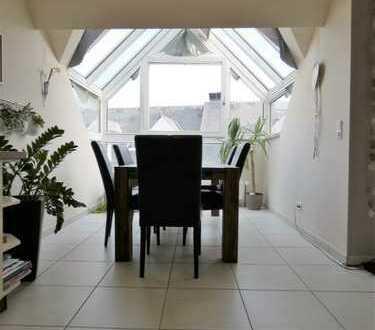 Stilvolle Maisonette Wohnung mit Fernblick !