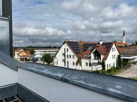 Erstbezug mit Loggia: freundliche 2-Zimmer-Dachgeschosswohnung in Odelzhausen