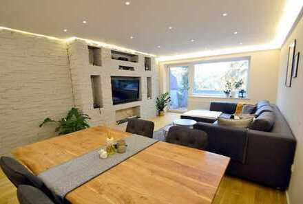 Wunderschön modernisierte 3,5-Zimmer-Wohnung mit Südwest-Balkon in Ottobrunn