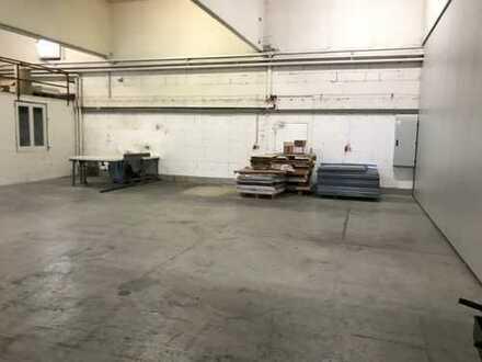 RESERVIERT! Beheizbare Lagerhalle mit kleinem Büro zu vermieten