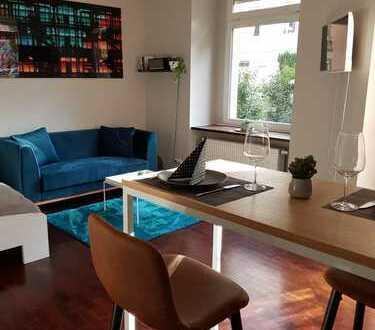 Möblierte 1-Zimmer-EG-Wohnung mit EBK und Garten im Nordend-Ost