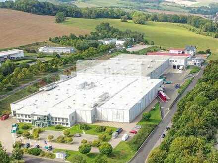 Produktions- und Logistikimmobilie || b. Eisenach || ca. 14.713 m² Hallenfläche