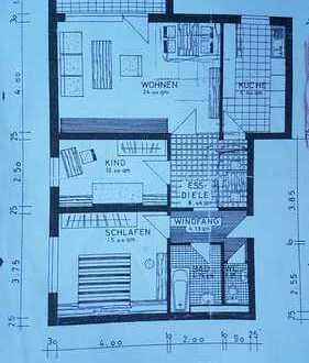 Geräumige 3 - ZKBB Wohnung mit Balkon und EBK